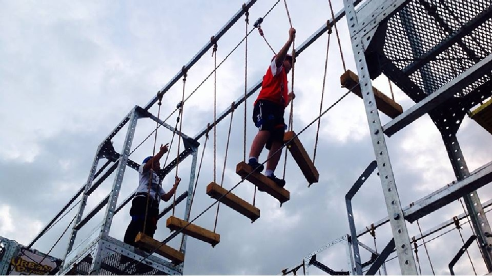 high rope obstacle malaysia
